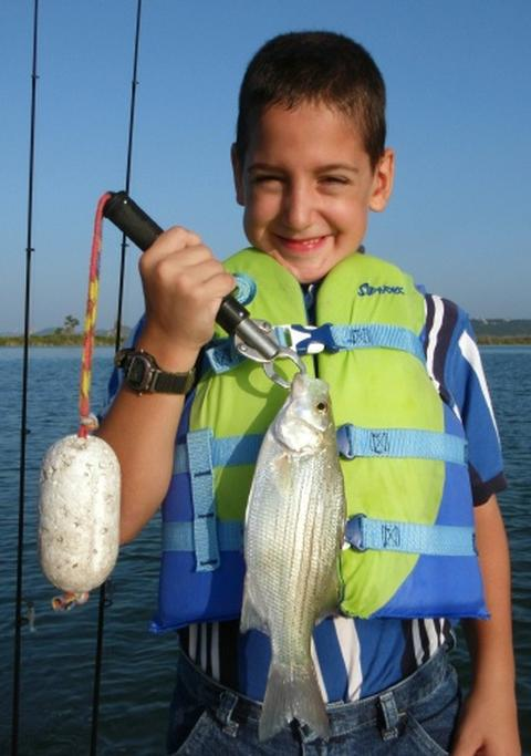 August 2010 fishing report for Tpwd fishing reports