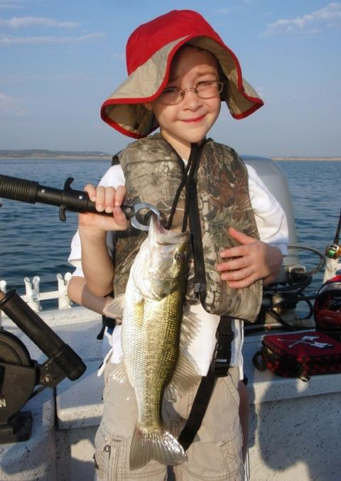 29 august 2011 fishing report for Austin bass fishing