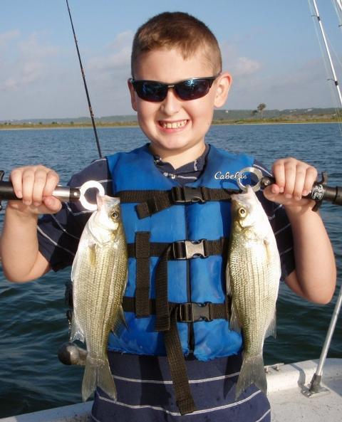 September 2012 fishing report for Stillhouse lake fishing report
