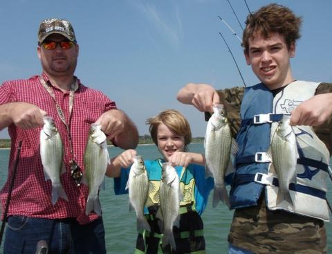 May 2011 fishing report for Stillhouse lake fishing report