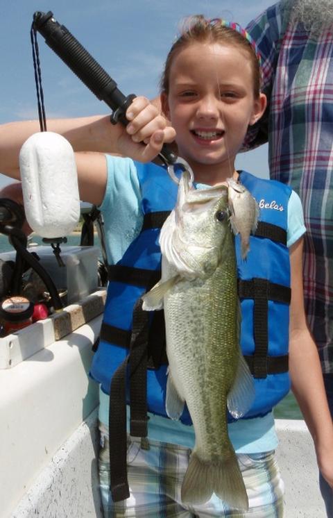 June 2012 fishing report for Stillhouse lake fishing report